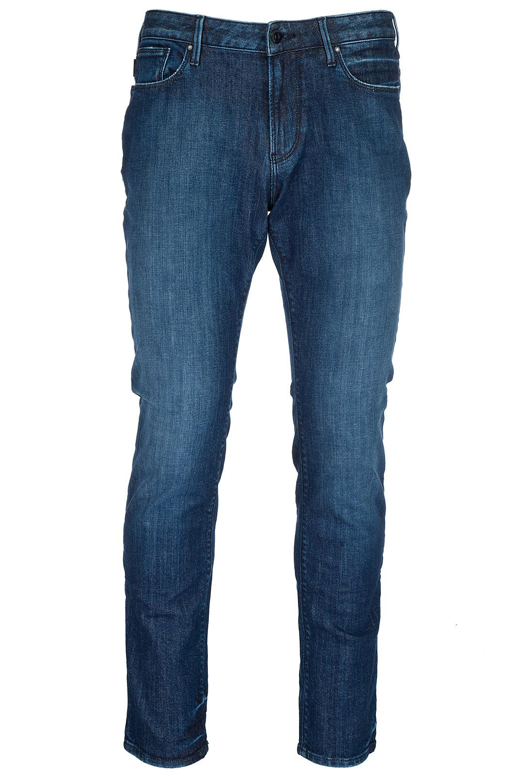 Emporio Armani Men's Jeans Denim In Blue