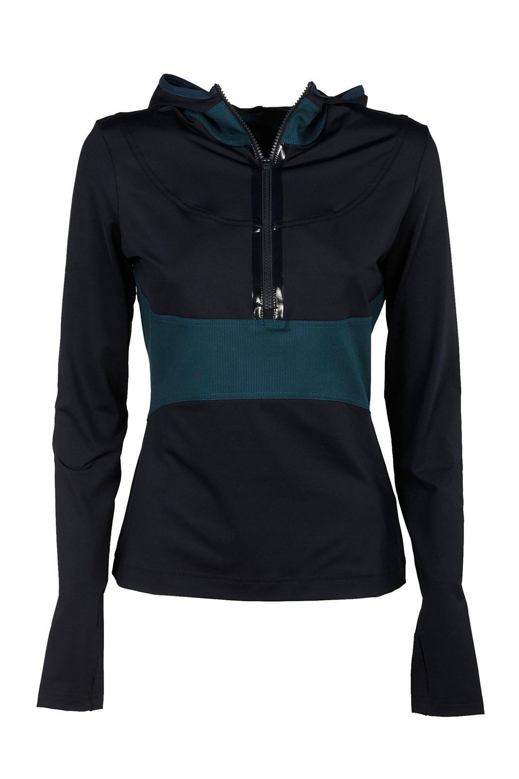 huge selection of authentic quality coupon code Damen Sweatshirt Kapuzen Kapuzensweatshirt Pulli in Blue