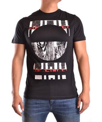 Mcq By Alexander Mcqueen Mcq Alexander Mcqueen Men's  Black Cotton T-Shirt