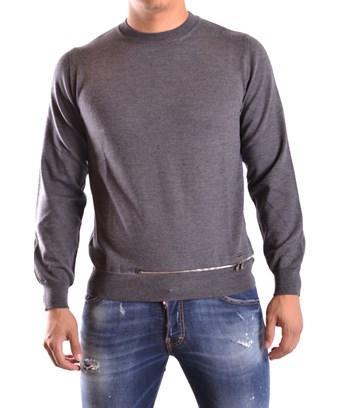 Dsquared2 Men's  Grey Wool Sweater