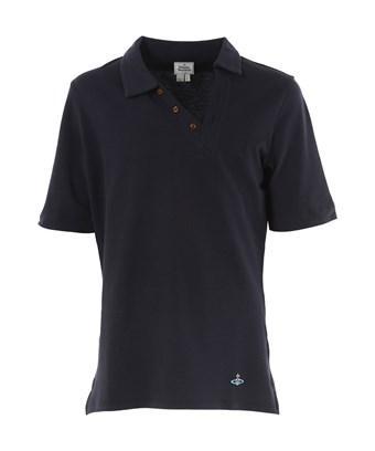 Vivienne Westwood Men's  Blue Cotton Polo Shirt