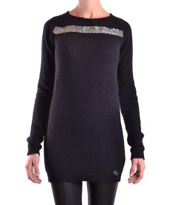 Balmain Women's  Black Wool Sweater