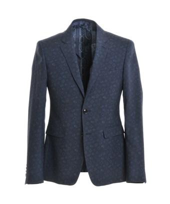 Etro Men's  Blue Wool Blazer