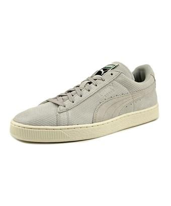 Puma Suede Classic + Mod Heritage   Round Toe Leather  Sneakers In Grey