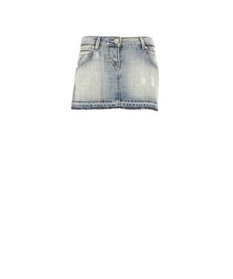 Pinko Women's  Light Blue Cotton Skirt