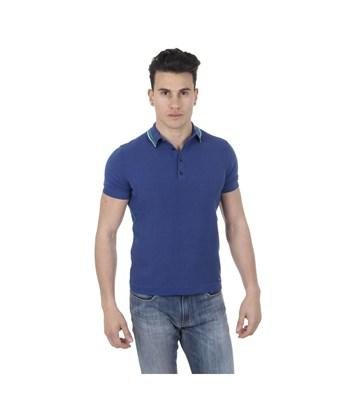 Diesel Mens Polo Short Sleeves  K-Imre In Blue