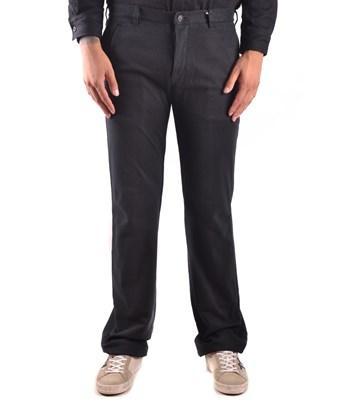 Yohji Yamamoto Men's  Black Cotton Pants