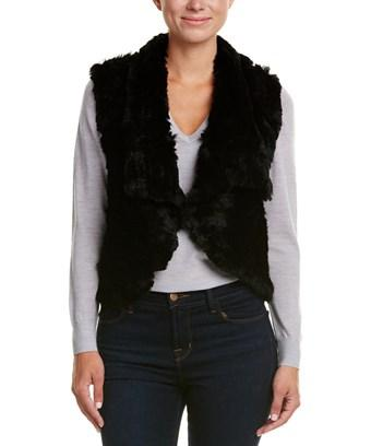 Love Token Carter Vest In Black