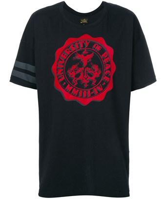 Vivienne Westwood Men's  Black Cotton T-Shirt