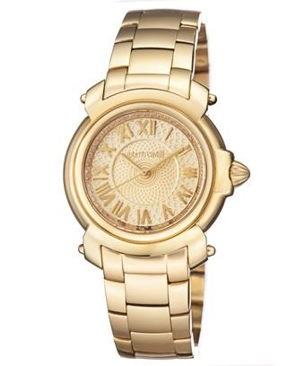 Roberto Cavalli Women's Gold Plated Stainless Steel Watch