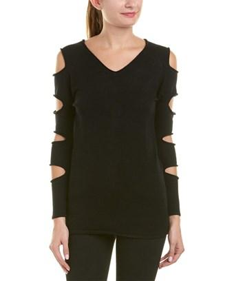 Love Token Gabby Sweater In Black