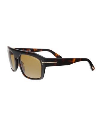 Tom Ford Ft0470/S 56E Conrad Havana Square Sunglasses In Brown