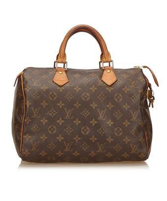 Louis Vuitton Pre-owned: Speedy Handbag Monogram Canvas 30 In Nocolor