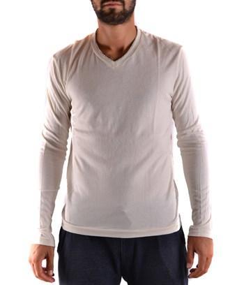 Yohji Yamamoto Men's  White Cotton Sweatshirt