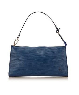 Louis Vuitton Pre-Owned: Epi Pochette Accessoires 24 In Blue
