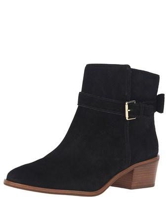 Kate Spade Taley Suede Bootie In Black