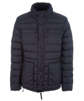 Duvetica Men's  Black Polyamide Down Jacket