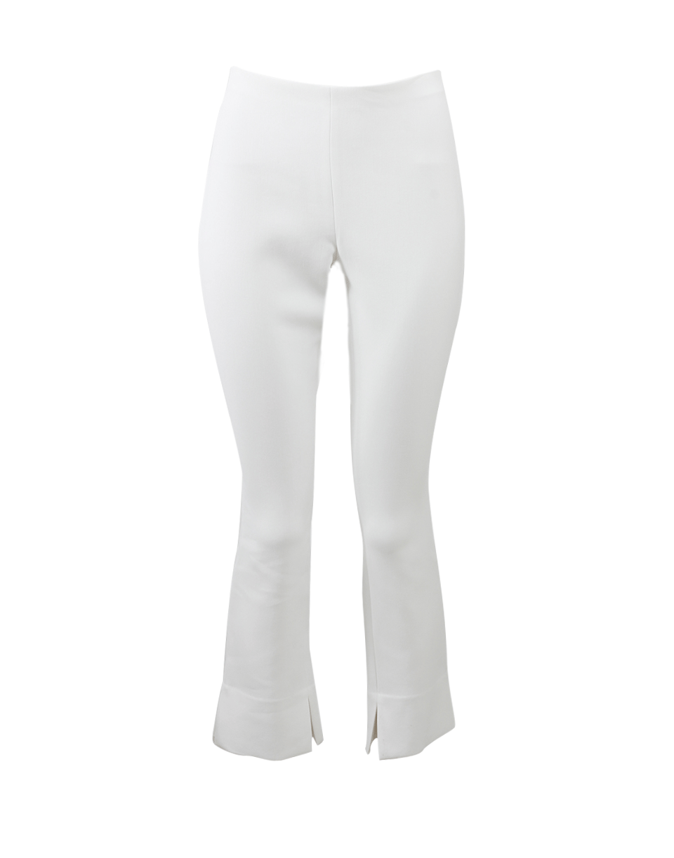 Rosetta Getty Cropped Pant In Ivory