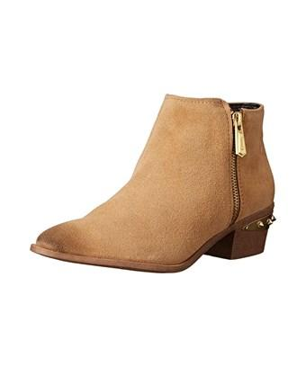 Circus By Sam Edelman Womens Holt Leather Almond Toe Ankle Fashion Boots In Brown