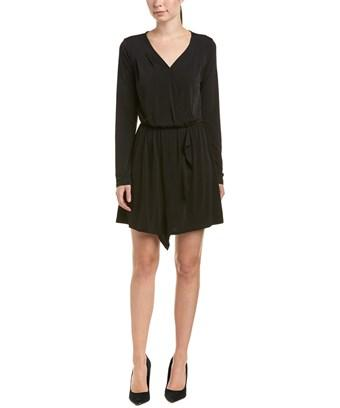 Bcbgeneration Asymmetric A-Line Dress In Black