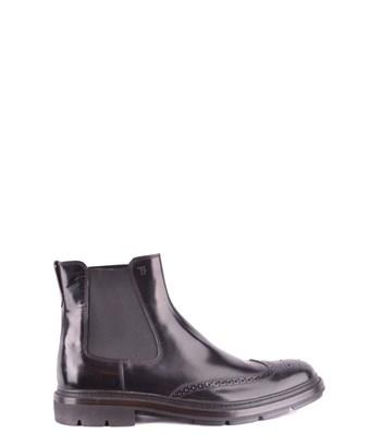 Tod's Men's  Brown Leather Ankle Boots