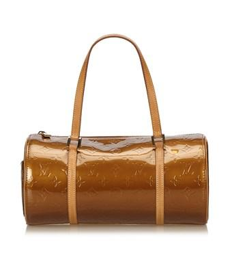 Louis Vuitton Pre-owned: Vernis Bedford In Brown X Bronze