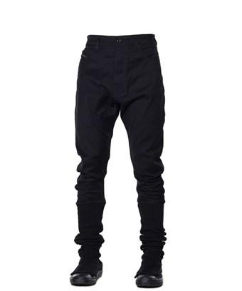 Diesel Black Gold Men's  Black Cotton Pants