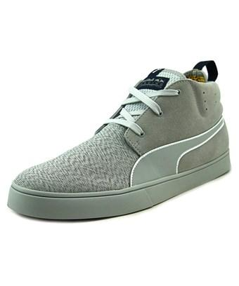 newest 7109f b983a Puma Rbr Desert Boot Vulc Men Round Toe Suede Gray Sneakers in Grey