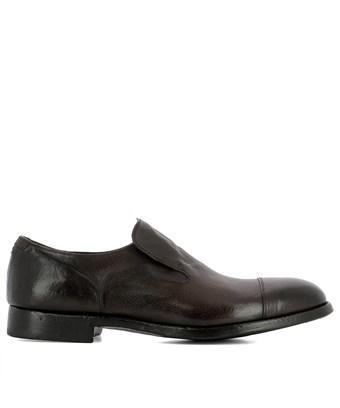 Alberto Fasciani Men's  Brown Leather Loafers