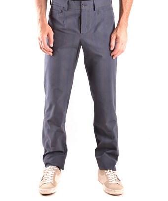 Bikkembergs Men's  Grey Cotton Pants