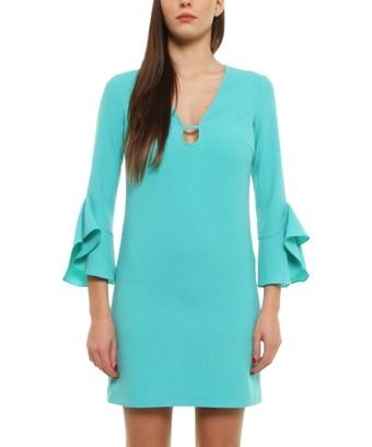 cba825d1df Pinko Women's Light Blue Polyester Dress | ModeSens