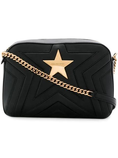 Stella Mccartney Alter Nappa Faux Leather Shoulder Bag - Black