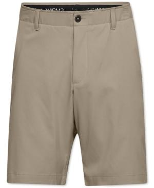 Under Armour Takeover Regular Fit Golf Shorts In City Khaki