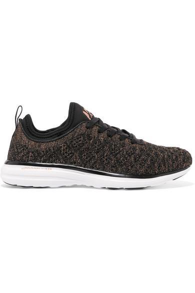 c99bff51ba26 Apl Athletic Propulsion Labs Techloom Phantom 3D Metallic Mesh Sneakers In  Us10