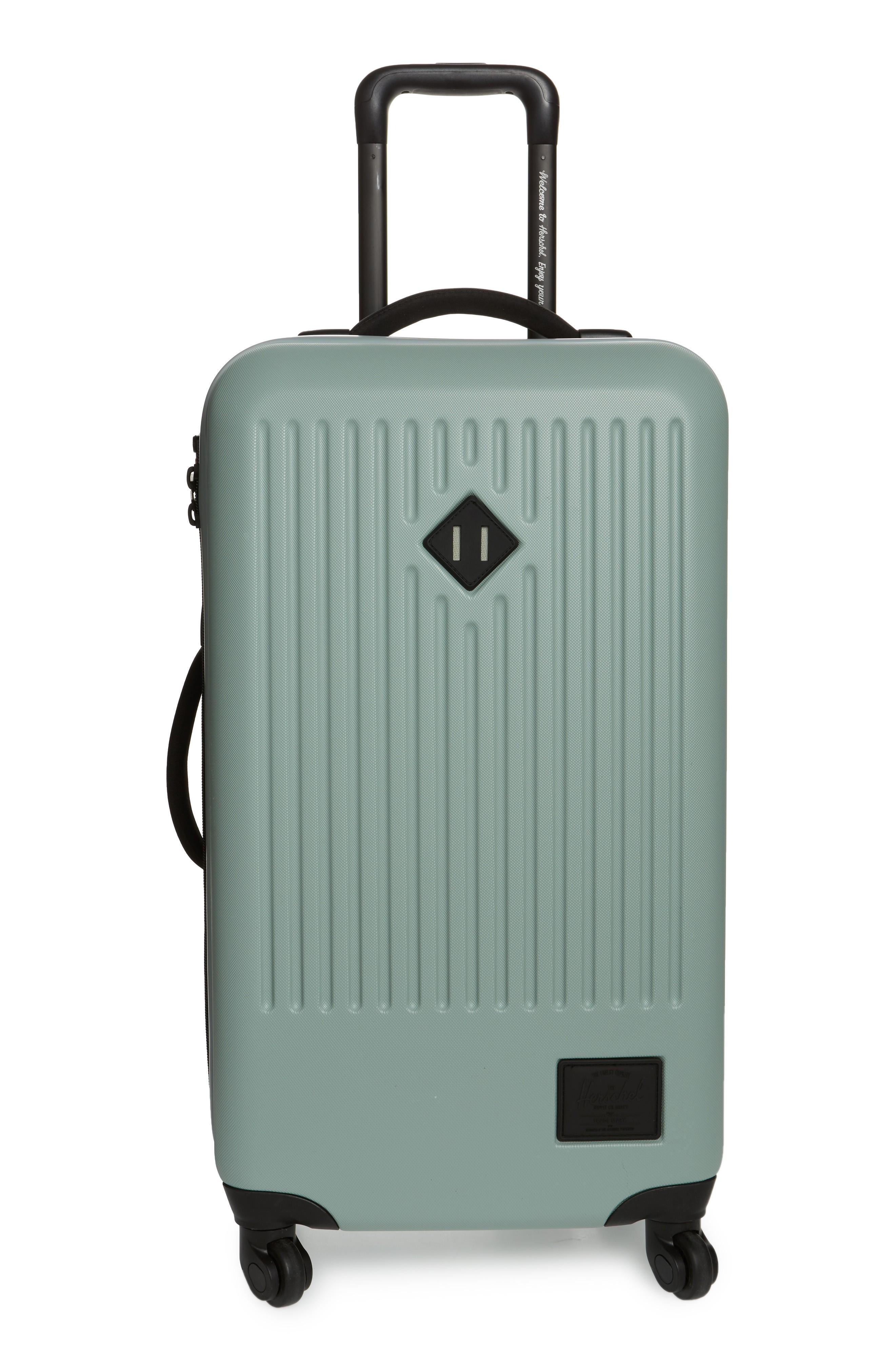 c4a4dd415 Herschel Supply Co. Medium Trade Wheeled Packing Case - Green In Iceberg  Green