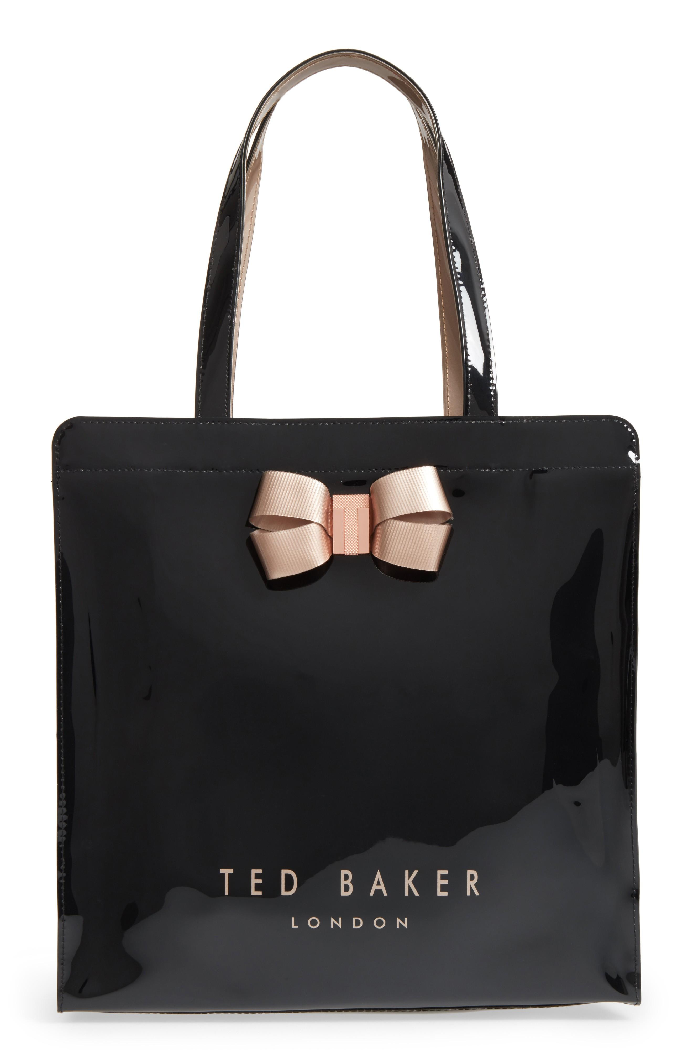 Ted Baker Large Vallcon Core - Icon Pvc Tote - Black