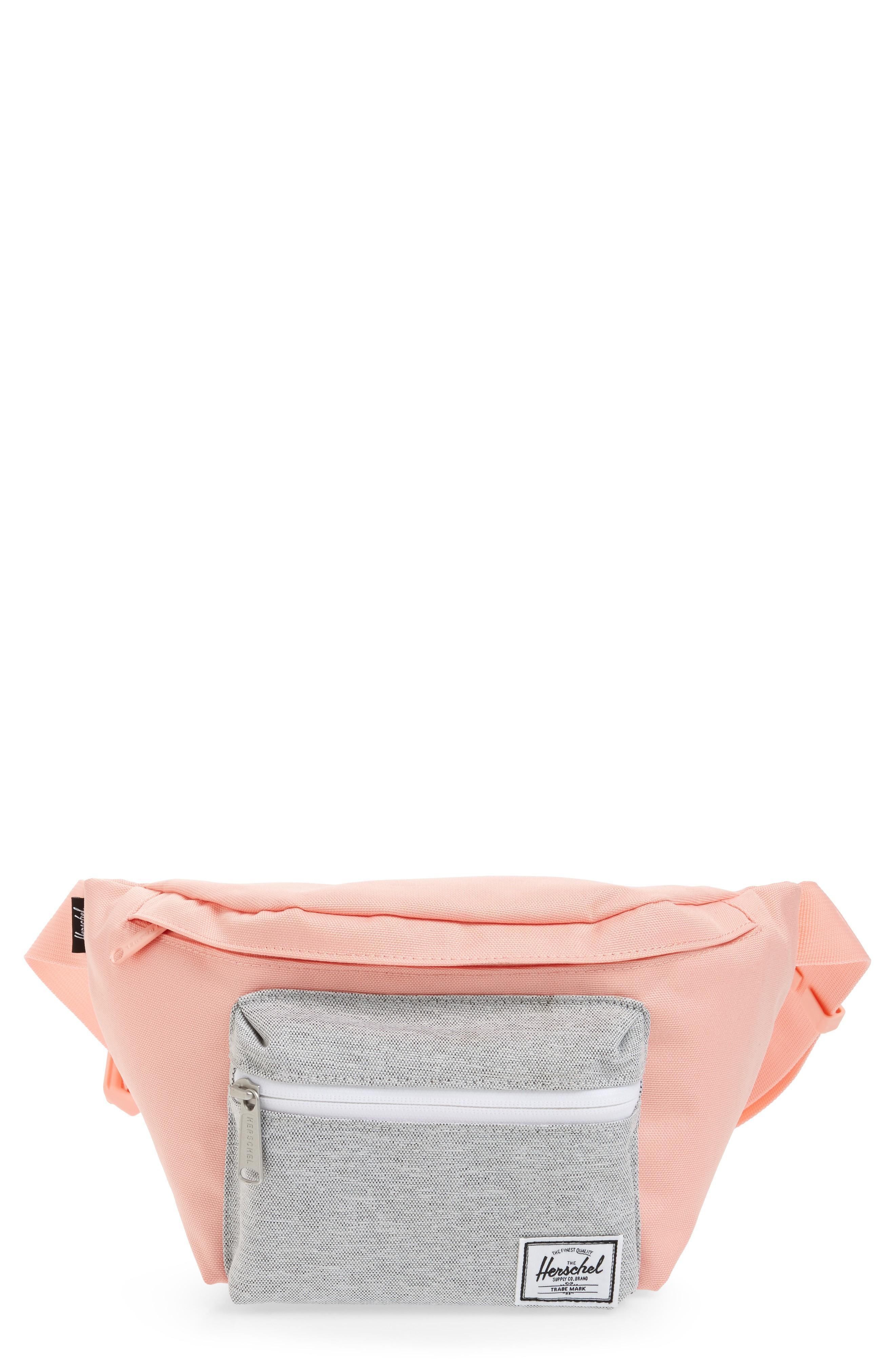 141651b91c9 Herschel Supply Co.  Seventeen  Belt Bag - Pink In Peach  Light Grey ...
