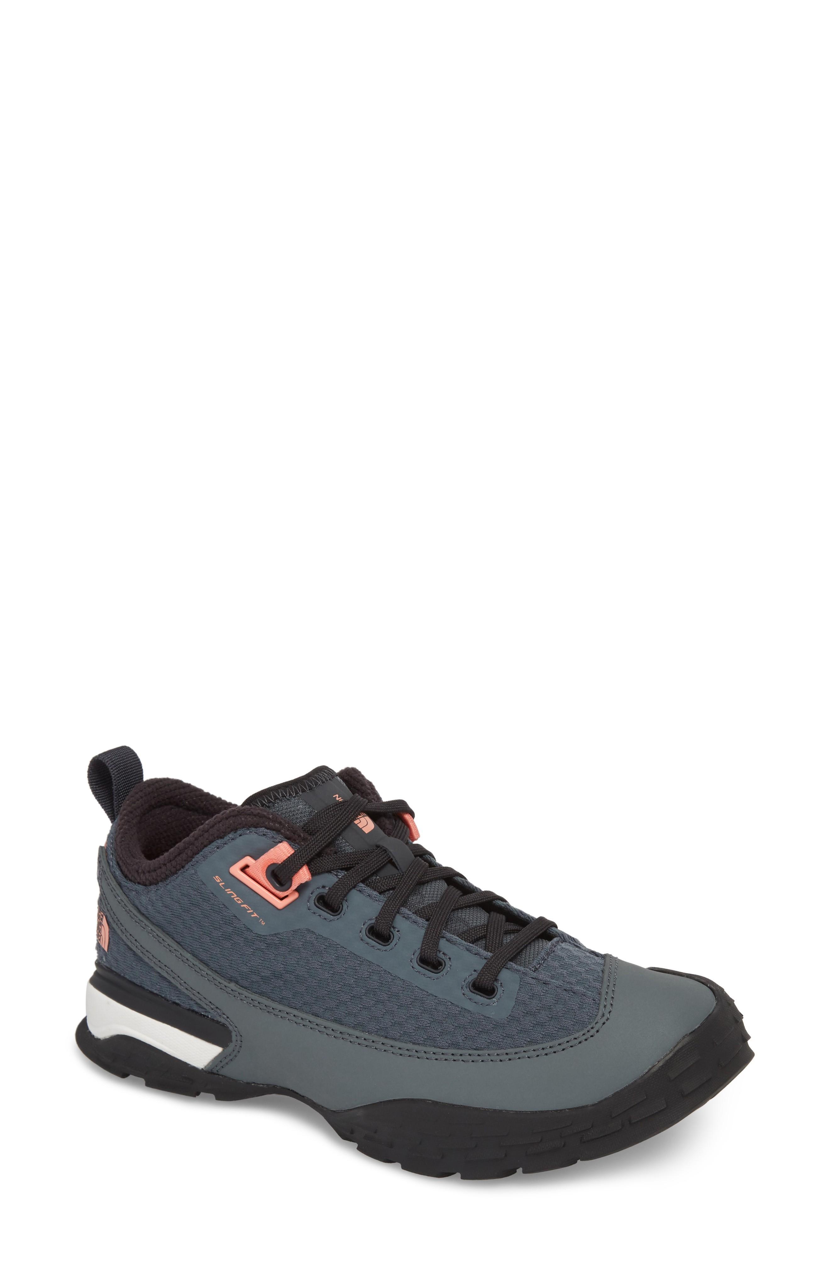 1a9b9e5db One Trail Hiking Shoe in Turbulence Grey/ Orange