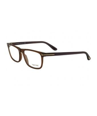 42d1690ddd2c7 Tom Ford Ft5356 048 In Shiny Dark Brown   Clear
