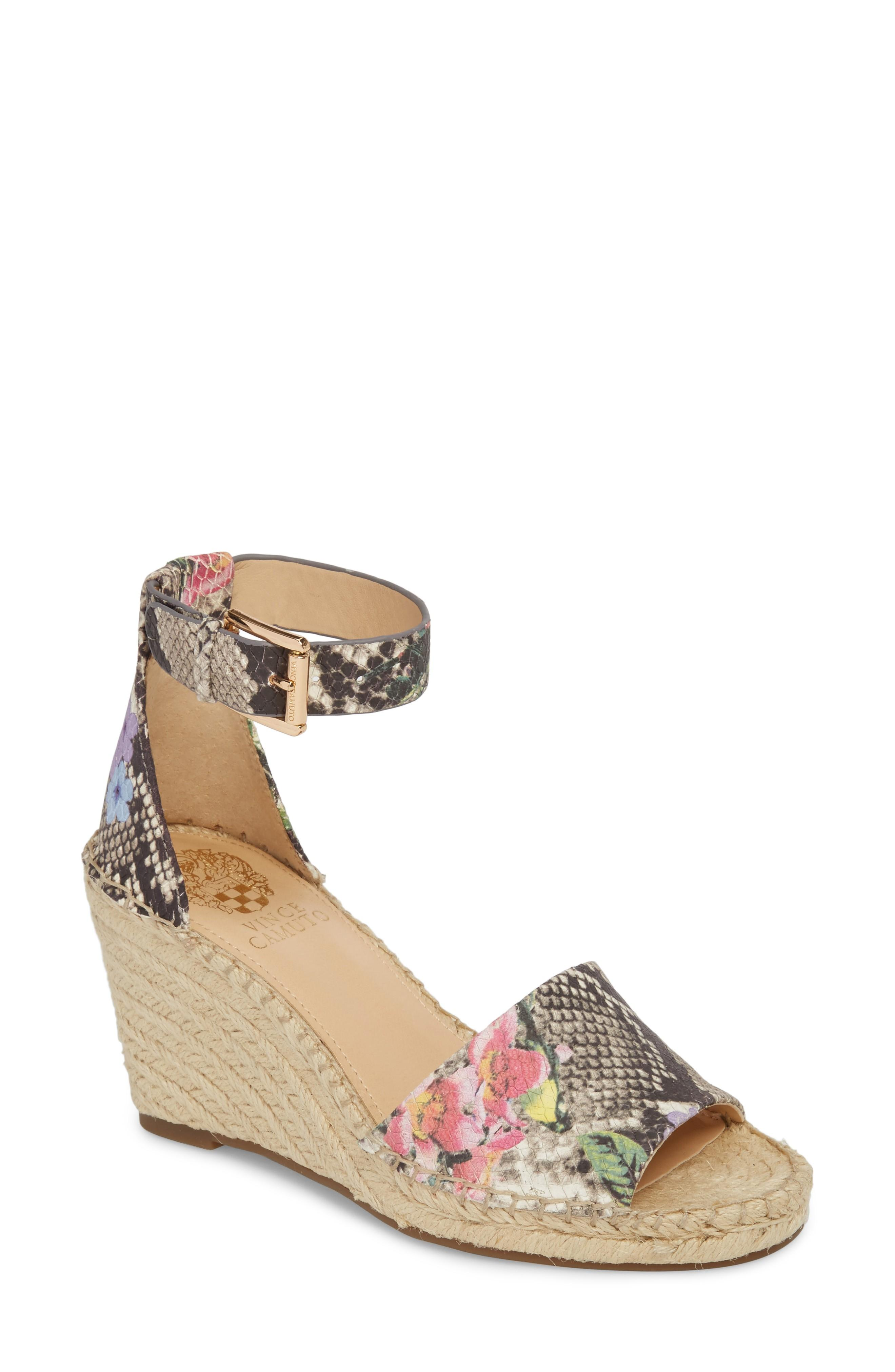 24739202f99 Style Name  Vince Camuto Leera Wedge Sandal (Women). Style Number  5523144.