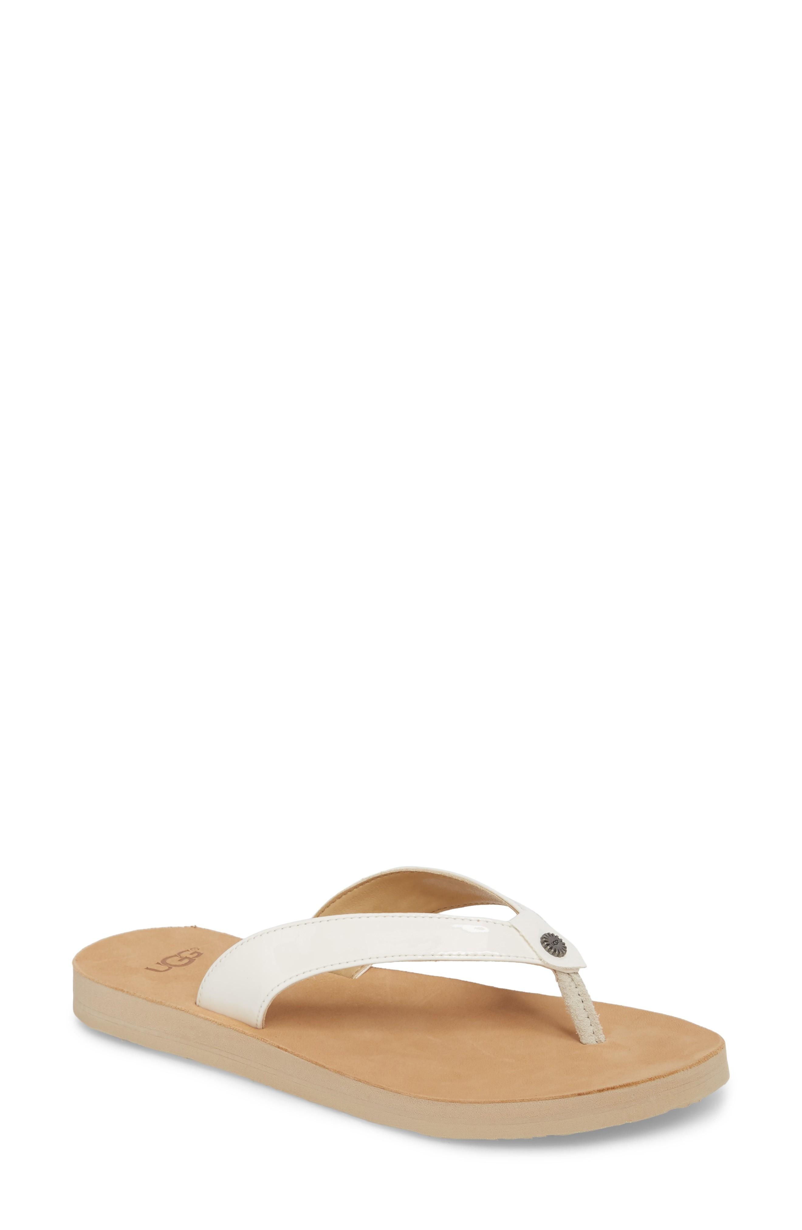 1a01811fd768 Signature hardware gleams on the suede straps of this quintessential casual  flip-flop. Style Name  Ugg Tawney Flip Flop (Women). Style Number  5507207.