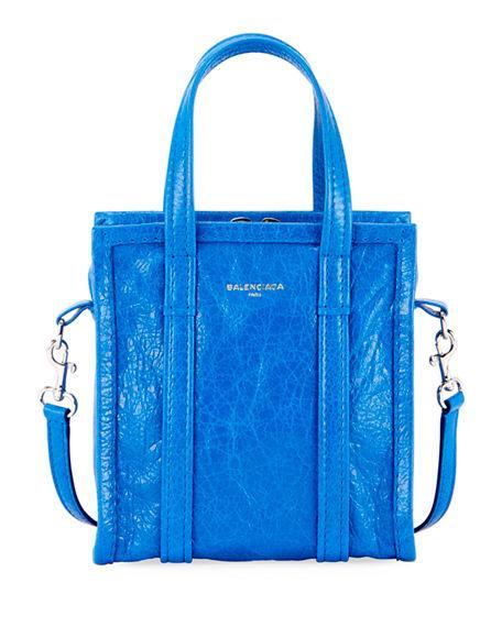 fbb08d991 Balenciaga Xxs Bazar Shopper Tote Bag In Blue | ModeSens