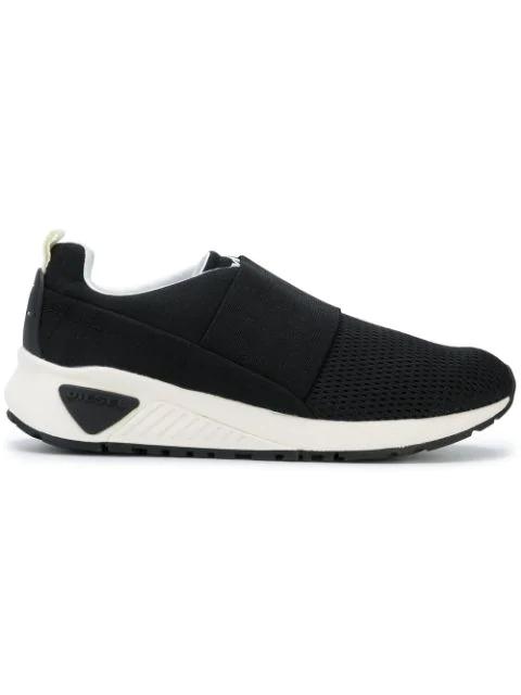 Diesel Black S Kb Elastic Sneakers In T8013