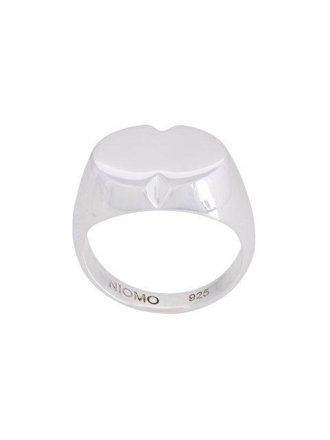 Niomo Phoebe Pinky Finger Ring In Metallic