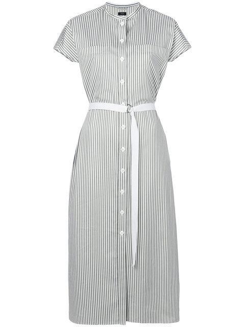Joseph Striped Shirt Dress