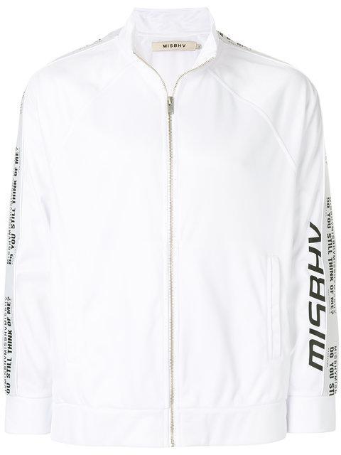 Misbhv Logo Zipped Sweatshirt
