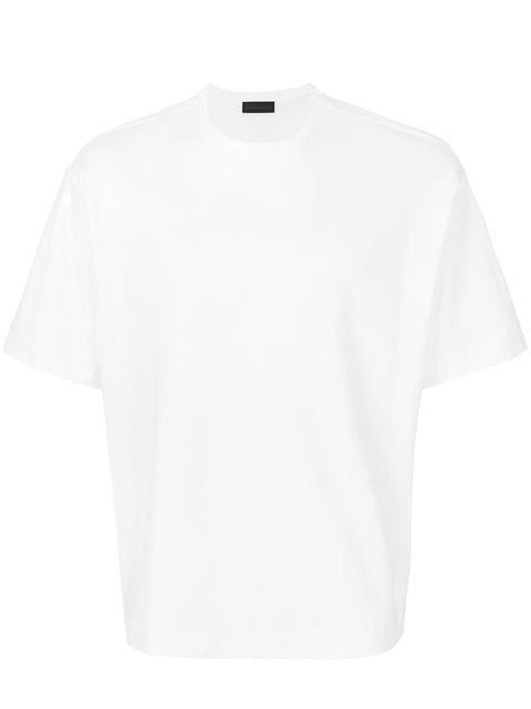Diesel Black Gold Round Neck T-Shirt In White