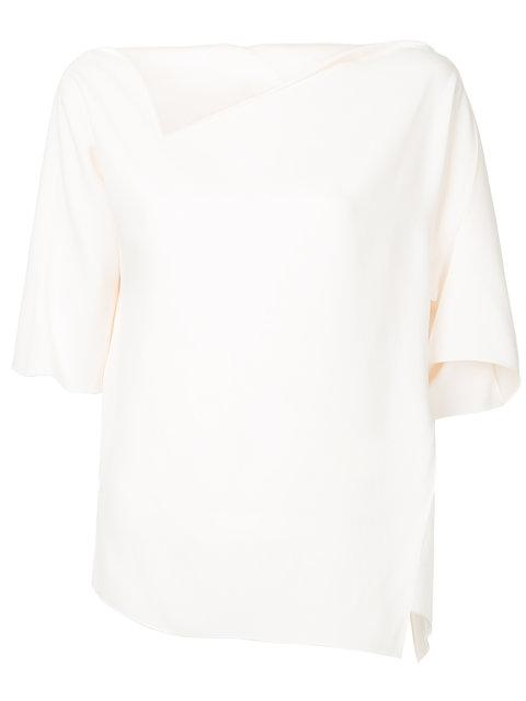 Jil Sander Cropped Sleeve Blouse