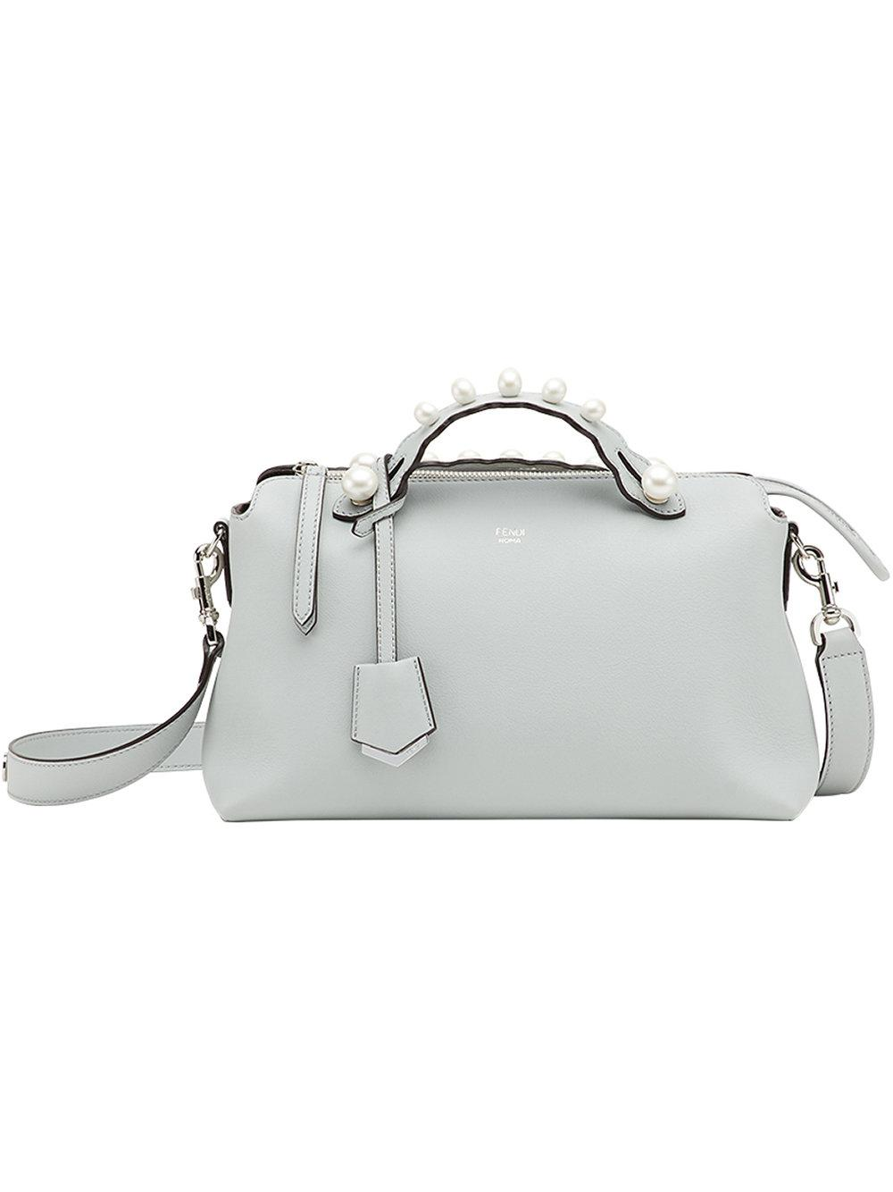 c6375dde94 Fendi Grey Medium Pearl  By The Way  Bag