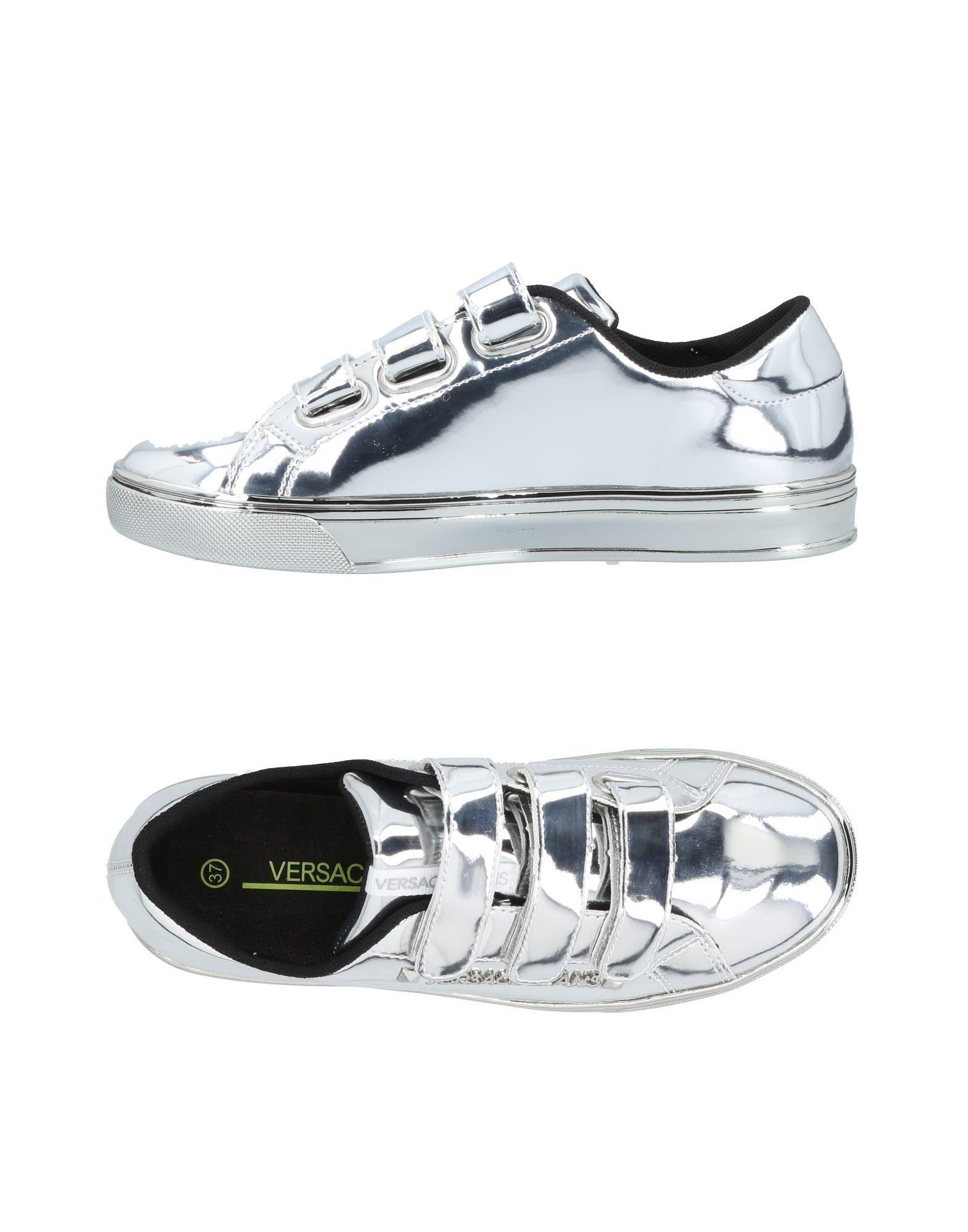 4a6125d7092 Versace Jeans Sneakers In Silver   ModeSens
